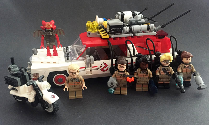 Ghostbusters Ecto-1 & 2 Set Web