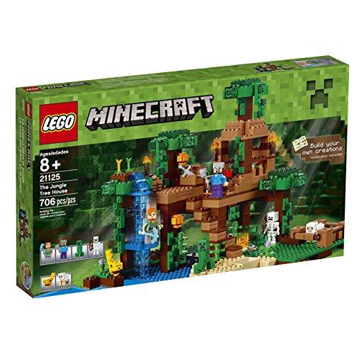 bâtiment minecraft lego avec des zombies