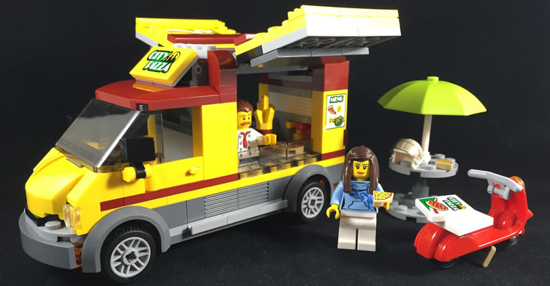 Lego City 60150 Pizza Van Review Go Go Pizza Delivery