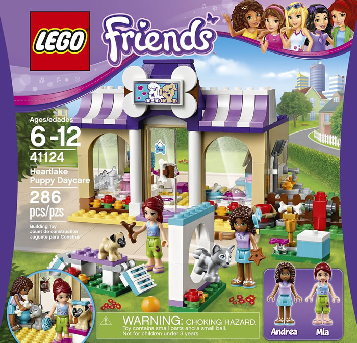 Pamper Your Pups With the Lego Friends Heartlake Puppy ...