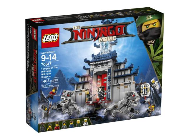 Lego Ninjago Movie Temple of The Ultimate Ultimate Weapon 70617 ...