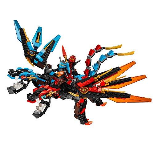 Lego Ninjago Dragon S Forge Building Kit Ride The Fusion