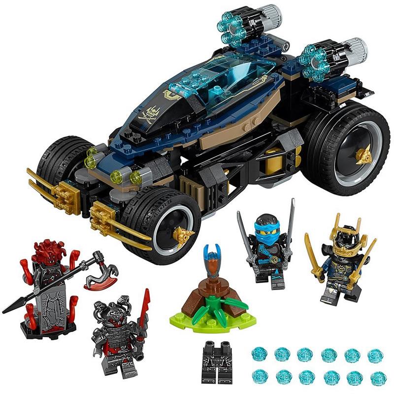 A Closer Look At The Lego Ninjago Samurai Vxl Meet The